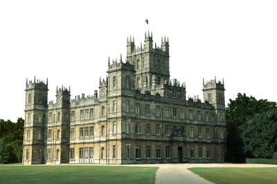Highclere Castle - Downtown Abbey - Transparent