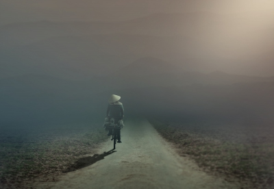 Cycling Through The Fog