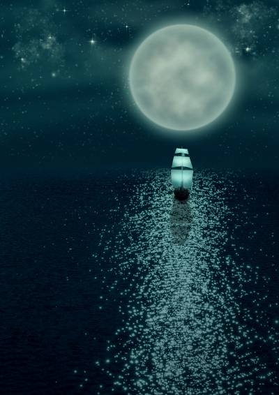 Sailing In Moonlight