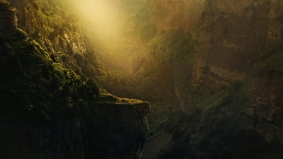 Valley of silence - Premade Background