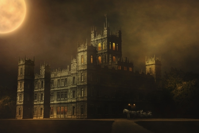 Scary Night at Downton Abbey
