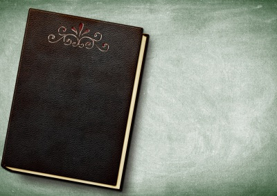 Notebook on background