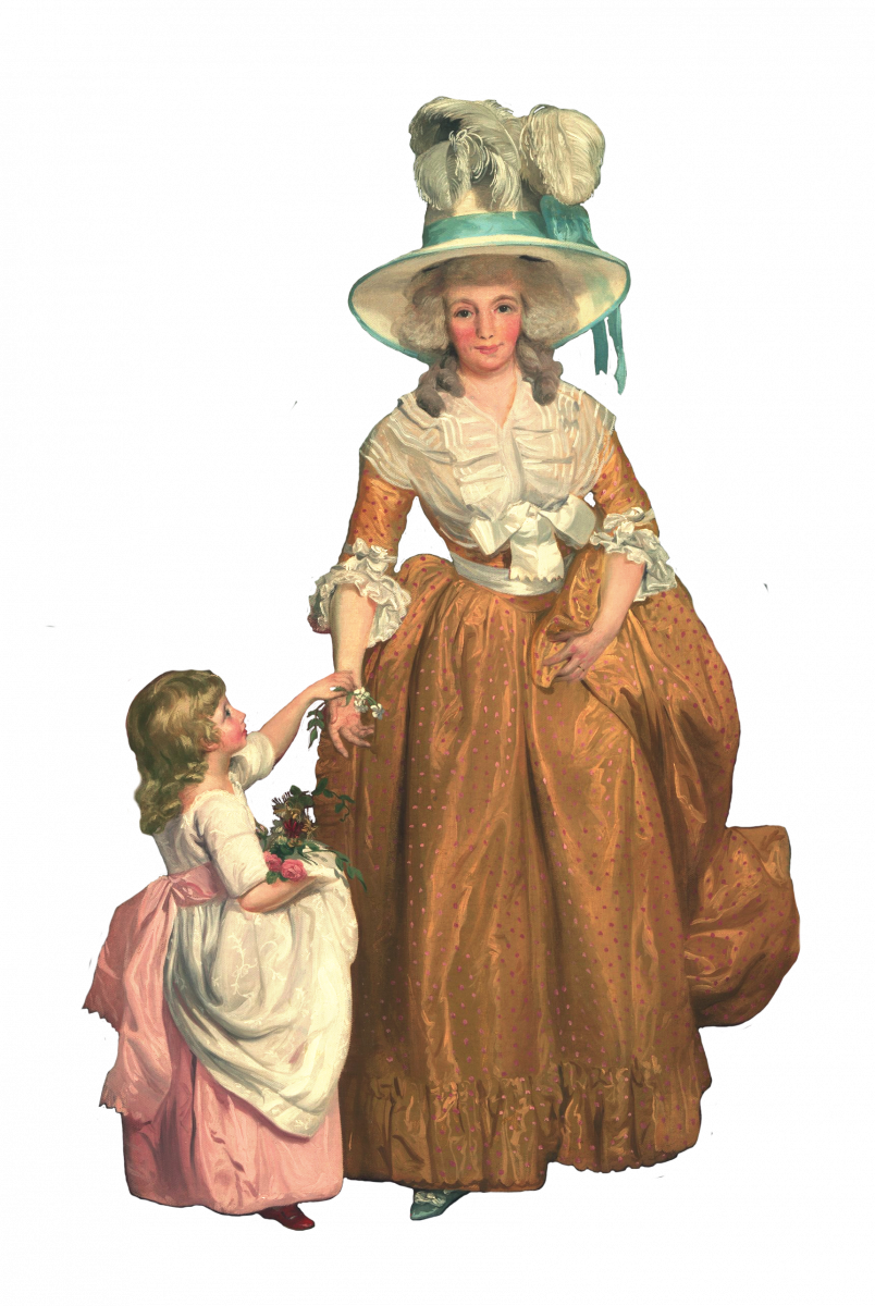 Lady-with-child