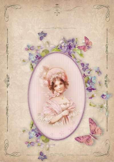 Vintage - Young Victorian Lady