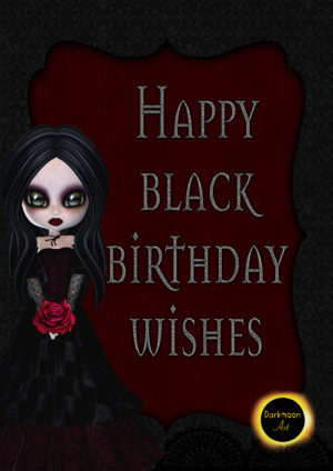 """Happy Black Birthday Wishes"""
