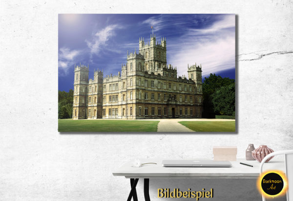 Highclere Castle - Downton Abbey Postkartenidylle - Beispiel 2