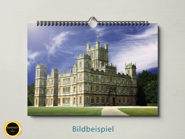 Highclere Castle - Downton Abbey Postkartenidylle - Beispiel 3