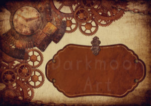 Steampunk Remember The Time Hintergrund beispiel