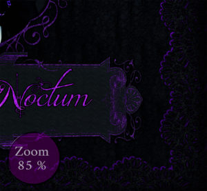 Noble Gothic Card Carpe Noctum zoom